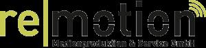 Remotion – Medienproduktion & Service GmbH Logo